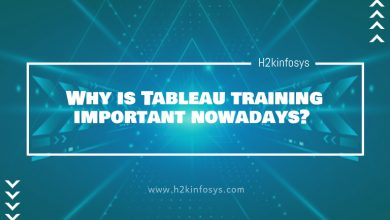 Photo of Why is Tableau training important nowadays?