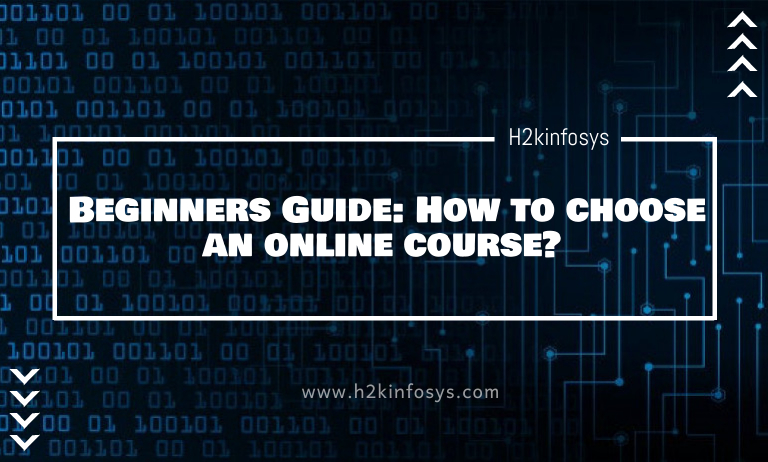 Beginners Guide: How to choose an online course?