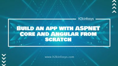 Photo of Build an app with ASPNET Core and Angular from scratch