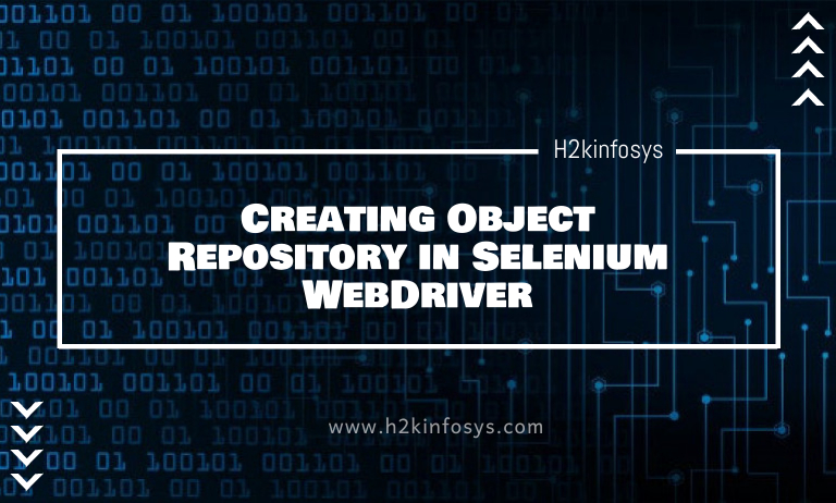 Creating Object Repository in Selenium WebDriver