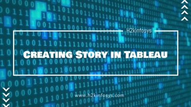 Photo of Creating Story in Tableau