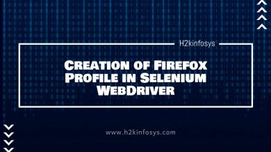 Photo of Creation of Firefox Profile in Selenium WebDriver