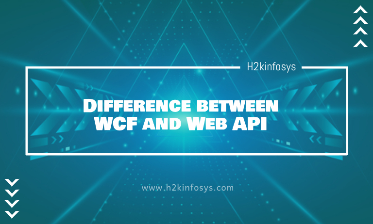Difference between WCF and Web API