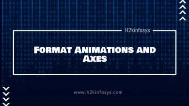 Photo of Format Animations and Axes