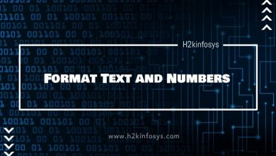 Photo of Format Text and Numbers