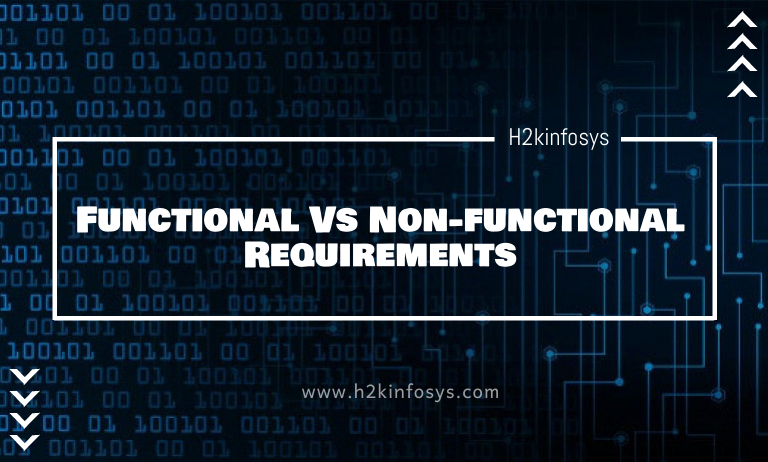 Functional Vs Non-functional Requirements