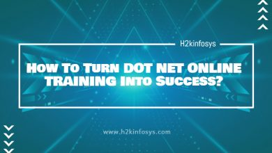 Photo of How To Turn DOT NET ONLINE TRAINING Into Success?