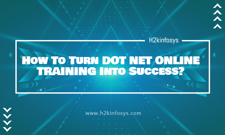 How To Turn DOT NET ONLINE TRAINING Into Success