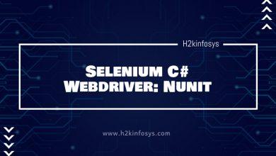 Photo of Selenium C# Webdriver: Nunit