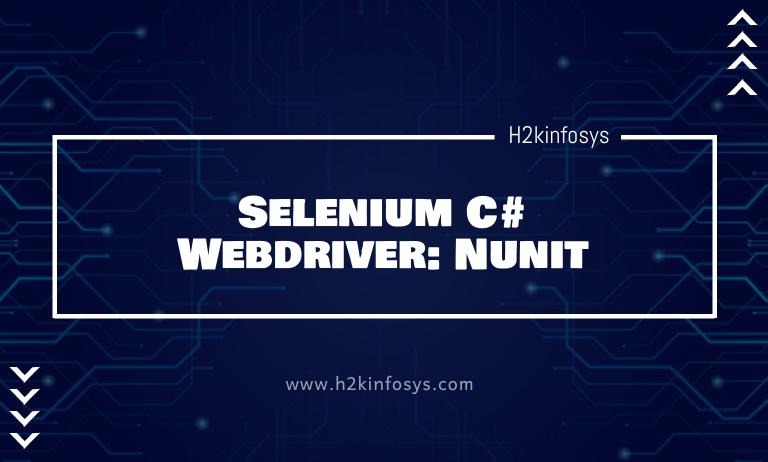 Selenium C# Webdriver: Nunit