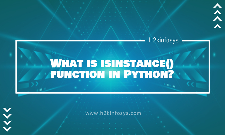 What is isinstancefunction in Python
