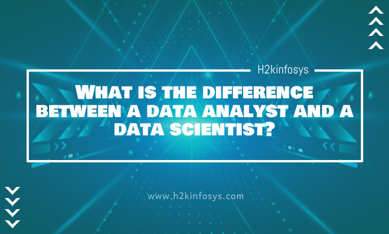 What is the difference between a data analyst and a data scientist?