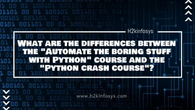 "Photo of What are the differences between the ""Automate the boring stuff with Python"" course and the ""Python crash course""?"