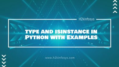 Photo of type() function in Python with Examples