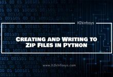 Photo of Creating and Writing to Zip Files in Python