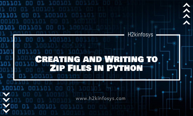 Creating and Writing to Zip Files in Python