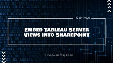 Photo of Embed Tableau Server Views into SharePoint