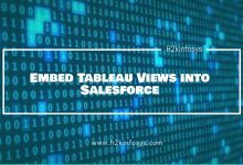 Photo of Embed Tableau Views into Salesforce