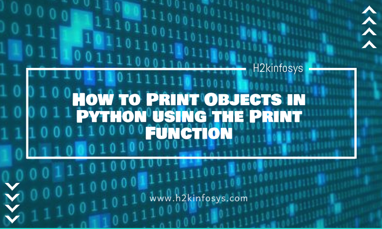 How to Print Objects in Python using the Print Function