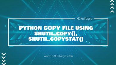 Photo of Python COPY File using shutil.copy(), shutil.copystat()
