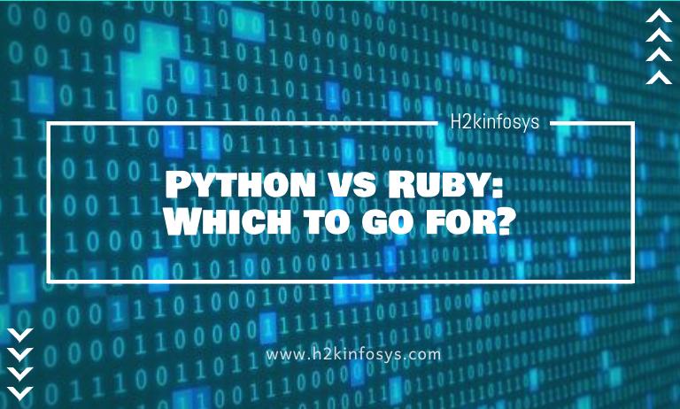 Python vs Ruby