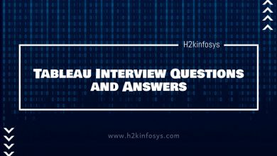 Photo of Latest Tableau Interview Questions and Answers