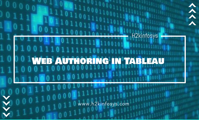 Web Authoring in Tableau