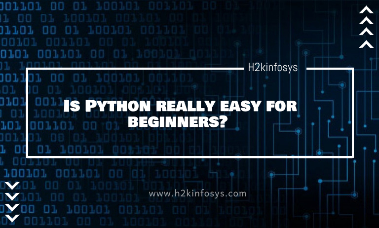 Is Python really easy for beginners?
