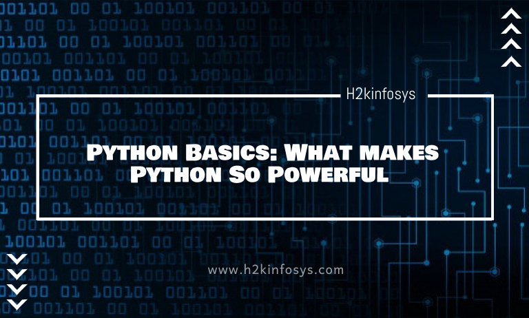 Python Basics What makes Python So Powerful