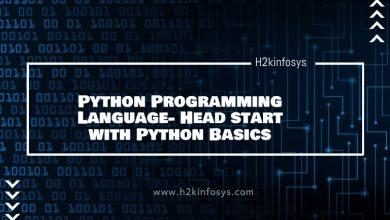 Photo of Python Programming Language- Head start with Python Basics