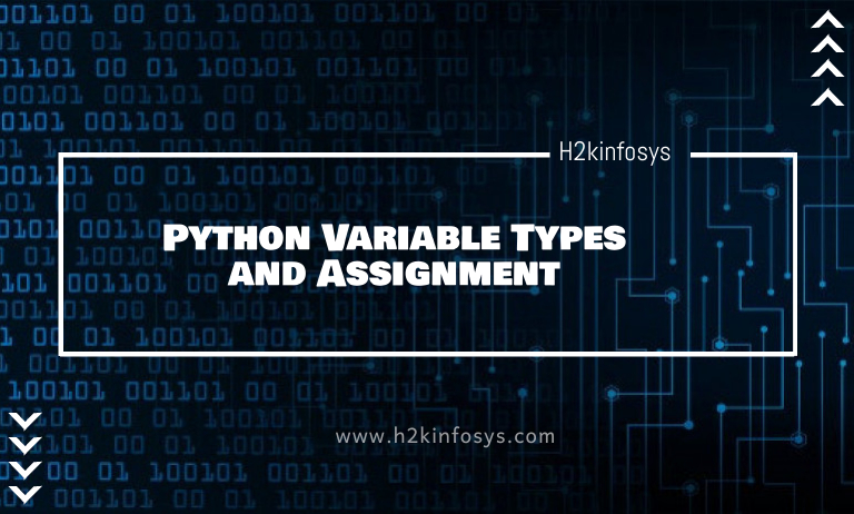 Python Variable Types and Assignment