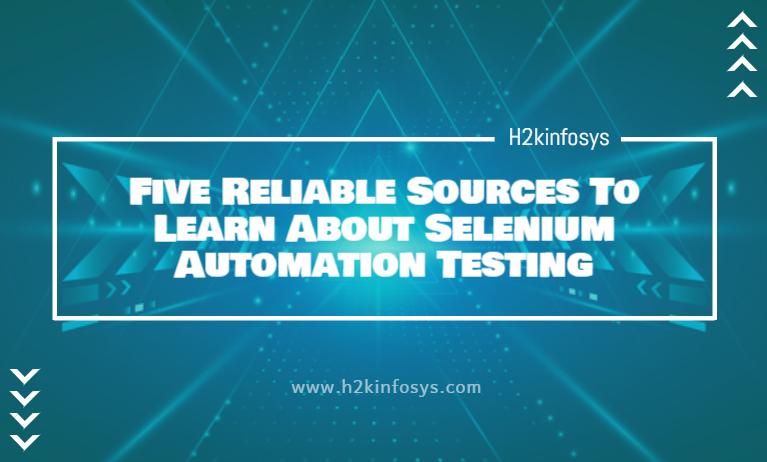 selenium automation testing course