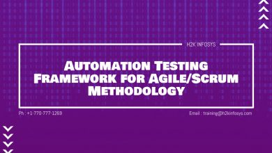 Photo of Automation Testing Framework for Agile/Scrum Methodology