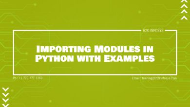 Photo of Importing Modules in Python with Examples