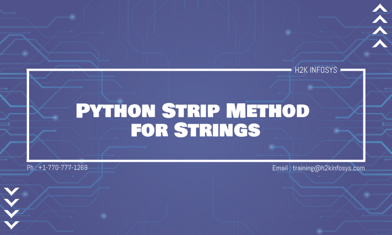 Python Strip Method