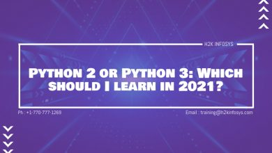 Photo of Python 2 or Python 3: Which should I learn in 2021?