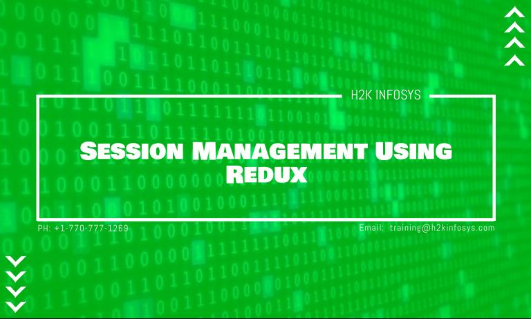 Session Management Using Redux