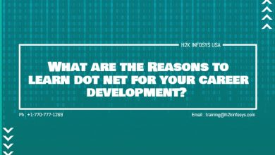 Photo of What are the Reasons to learn dot net for your career development?