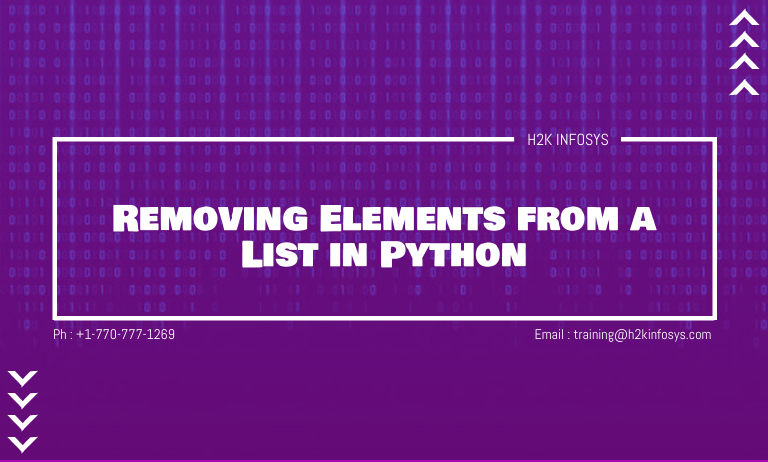 Removing Elements from a List in Python