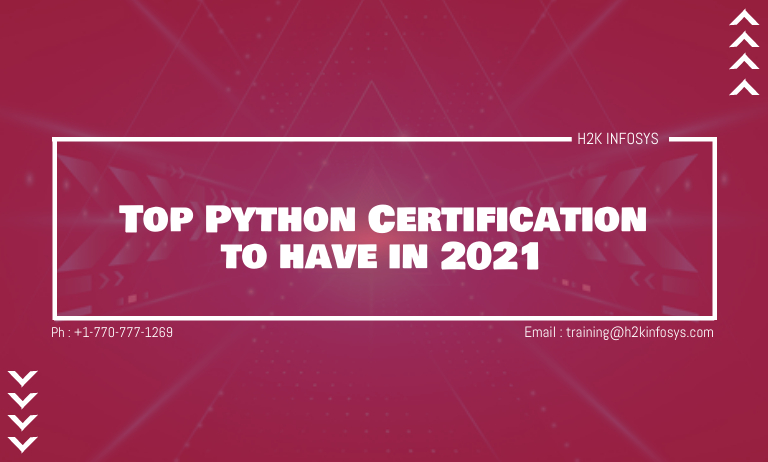 Top Python Certification to have in 2021