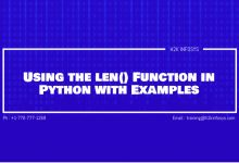 Photo of Using the len() Function in Python with Examples