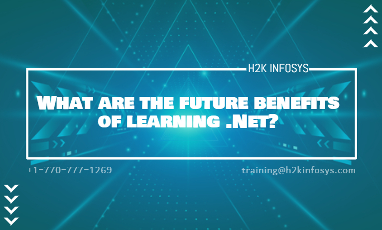 What are the future benefits of learning .Net