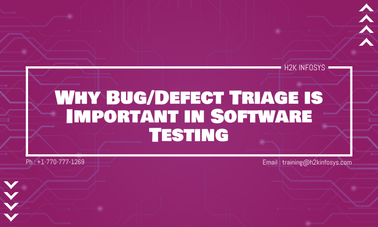 Defect Triage is Important in Software Testing