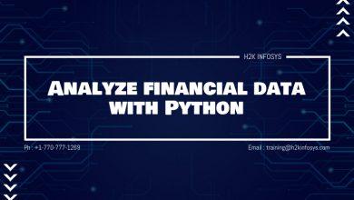 Photo of Analyze financial data with Python