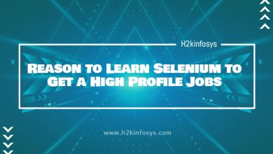 Photo of Reason to Learn Selenium to Get a High Profile Jobs