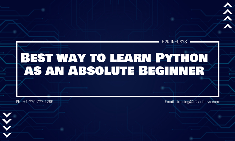Best way to learn Python as an Absolute Beginner