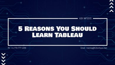 Photo of 5 Reasons You Should Learn Tableau
