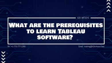 Photo of What are the prerequisites to learn Tableau software?
