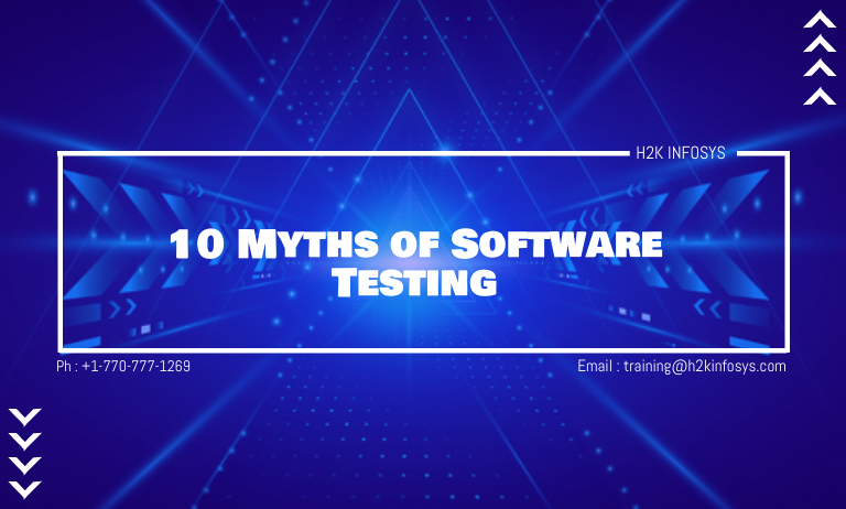 Myths of Software Testing
