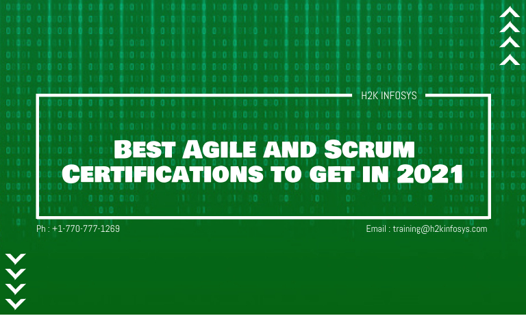Best Agile and Scrum Certifications to get in 2021